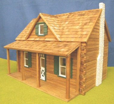 Rocky Mountain Dollhouses In 1 Quot Scale From Fingertip