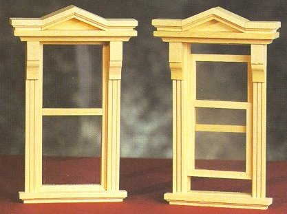 Dollhouse Windows From Fingertip Fantasies Dollhouse Miniatures