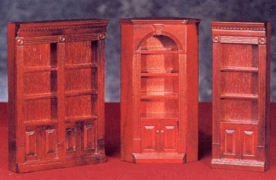 Bookcases In 1 Quot Scale For Dollhouses From Fingertip