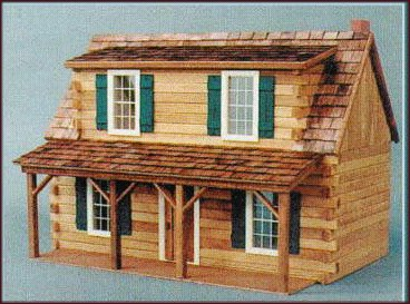 Adirondack Log Cabin By Real Good Toys From Fingertip