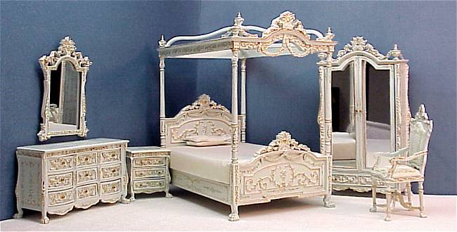 Bespaq Versailles Bedroom Set from FINGERTIP FANTASIES Dollhouse ...