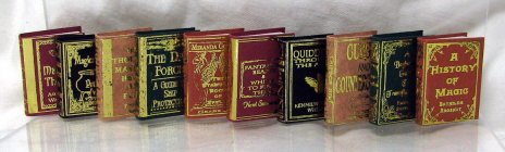 Miniature Books For Your Dollhouse From Fingertip Fantasies