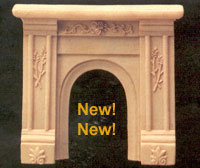 NEW   FS5468 - 1/24th Fireplace   NEW