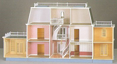 Foxhall Manor Dollhouse By Walmer From Fingertip Fantasies