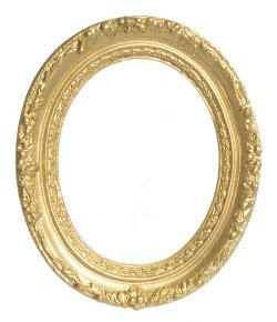 oval gold frame 2 38 x 2 78