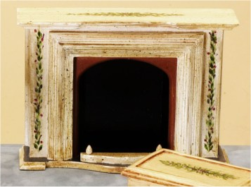 DOLLHOUSE FIREPLACES IN 1QUOT; SCALE FROM FINGERTIP FANTASIES