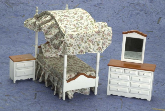 Value Priced Bedroom Furniture Sets From FINGERTIP FANTASIES Dollhouse