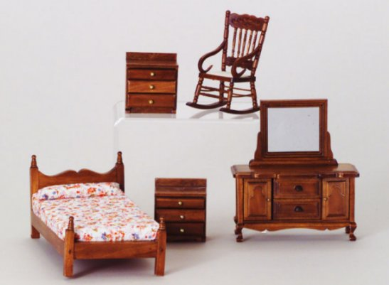 bedroom furniture sets from fingertip fantasies dollhouse miniatures