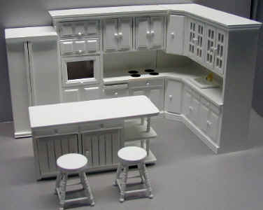 Dollhouse Kitchen Furniture