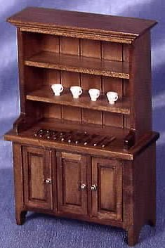 Dollhouse Cabinets Hutches Amp Bookcases In 1 Quot Scale From
