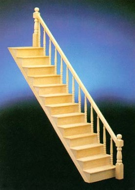 Dollhouse Staircases From Fingertip Fantasies Dollhouses
