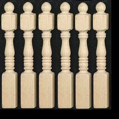 Dollhouse Porch Amp Newel Posts From Fingertip Fantasies