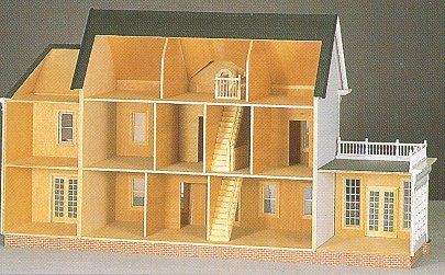 Montclair Dollhouse By Walmer From Fingertip Fantasies