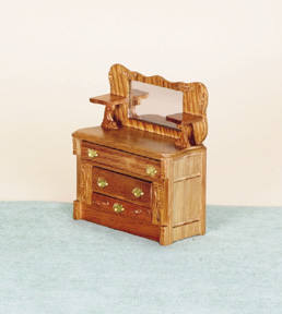 Real Oak Miniature Dollhouse Furniture Page 1 From FINGERTIP FANTASIES Dollhouse  Miniatures