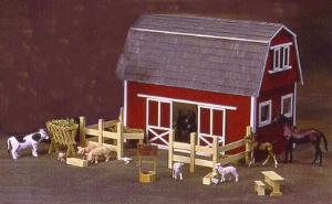 Real Good Toys All American Barn Dollhouse From Fingertip