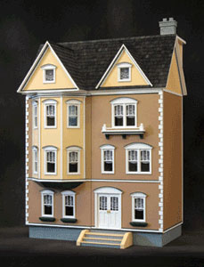 miniature dollhouse wallpaper