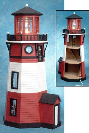 New England Lighthouse By Real Good Toys From Fingertip