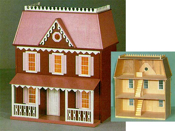 Cranberry Cove Dollhouse By Walmer From Fingertip
