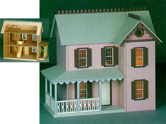 Cherrydale Dollhouse By Walmer From Fingertip Fantasies