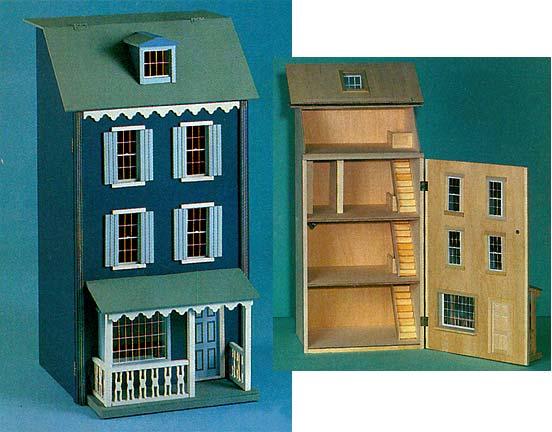 Lilliput Houses From Fingertip Fantasies Dollhouse Miniatures