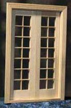 Dollhouse doors 1 2 scale half inch scale from for 12 inch interior door
