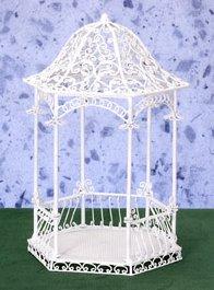 White Wire Gazebos Amp Trellis Furniture 1 12 Scale Page 11