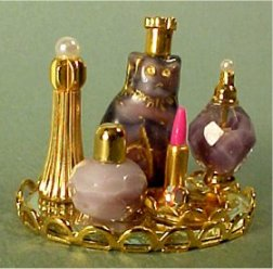 Dollhouse Perfume Trays From Fingertip Fantasies Dollhouse